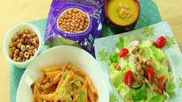 Protein Snack Inspired Recipes from Saffron Road Food Crunchy Chickpeas Snacks