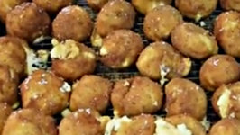 Delicious Fried Ricotta Cheese Balls