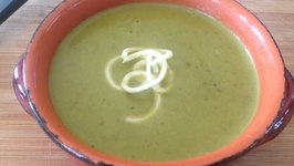 Creamy Zucchini Soup Dairy Free Gluten Free Soup of the Day