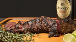 90 Second Irish Stout Marinaded Tri-Tip Steak
