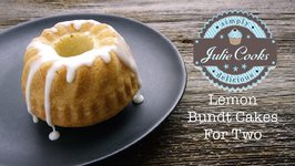 Lemon Bundt Cakes (For Two)
