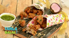 Kand Aloo Pakoda (Faraal Recipe)