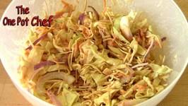 Crunchy Noodle Coleslaw