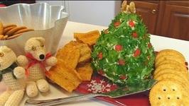 Three Cheese Dip - Christmas