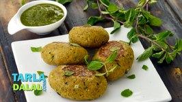 Chana Dal Seekh Kebab