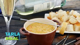 Mexican Cheese Fondue