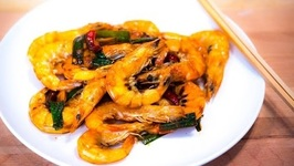 The Best Chinese Stir Fry Spicy Shrimp Recipe