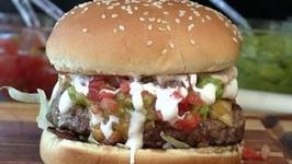 Nacho Cheese Burger