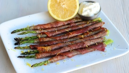 Appetizer Recipe: Proscuitto Wrapped Asparagus