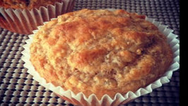Healthy Muffins Recipe with Cooked Steel Cut Oats