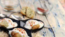 Oats and Moong Dal Dahi Vada- Healthy Snack