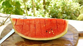 The easiest way to cut and serve watermelon