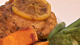 Moroccan Chicken with Apricots and Lemon