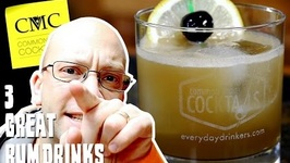 3 Best Rum Drinks Cocktails With Rum Volume 1
