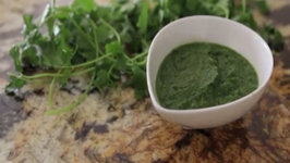 How to make a simple Green Masala