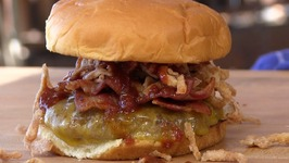 BBQ Bacon and Cheddar Smashburger Copycat