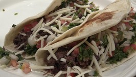 Homemade Barbacoa Tacos -- Smoked Beef Cheeks
