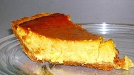 Pumpkin Walnut Pies
