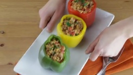 How To Make Zesty Stuffed Bell Peppers