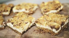 How To Make Cookie Dough Cheesecake Bars