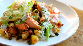 Salmon, Bacon and Potato Hash (Holiday Recipe)