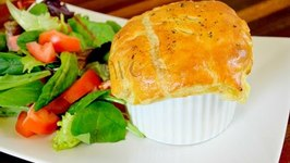 Homemade Chicken And Shrimp Pot Pie