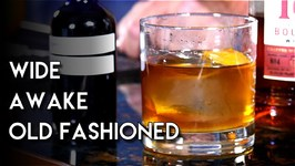 Wide Awake Old Fashioned With Homemade Coffee Bitters