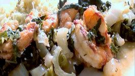 Healthy Shrimp Recipe with Cauliflower Rice  How to make Cauliflower Rice