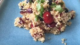 4th of July Special Salad- Cherry, Blueberry, Quinoa Salad