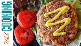 Veggie Burger - Vegetarian Black Bean Burger