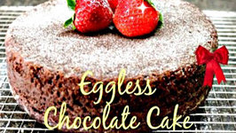 Eggless Chocolate Cake - Without Oven - Cooker Cake Recipe