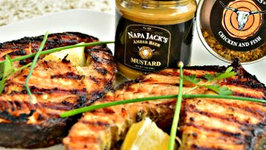 How to Grill Napa Jack's Amber Beer Mustard Salmon Steaks