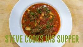 Delicious Meatball Soup