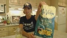 Miss Vickies Sea Salt And Malt Vinegar Kettle Cooked Potato Chips - What I Say About Food