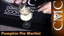 Pumpkin Pie Martini, Thanksgiving Cocktail