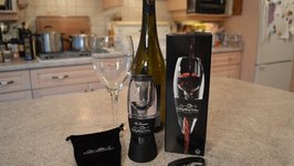 Everything Wine Aerator And  4-Wheel Foil Cutter Gift Set: What I Say About Food