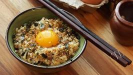 Tamago Kake Gohan (Japanese-Style Rice and Egg Bowl)
