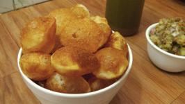 Puri for Pani Puri Recipe - Perfectly Crisp - Street Style - Indian Street Food