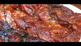Braided BBQ Pork Belly