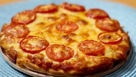 Quick Tomato Pizza Tomato cheese Pizza Cheese and Tomato Pizza