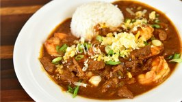 Best Steak And Shrimp Chili / Surf And Turf Chili / Crock Pot Recipe
