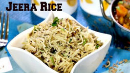 Jeera Rice or Cumin Rice - Indian Flavored Rice - Perfect for Beginners