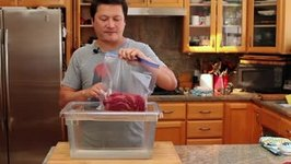 How to Seal Food Using the Water Displacement Method