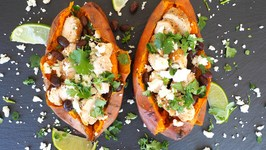 Dinner Recipe: Mexican Style Stuffed Sweet Potato