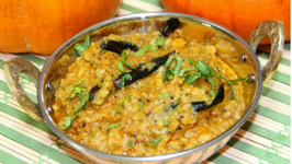 Pumpkin Curry with Lentil - Kaddu ki Sabzi