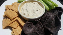 Roasted Garlic Scape Dip - Easy Garlic Scape And Shallot Dip Recipe On The Smokey Joe