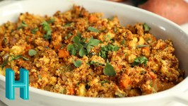 Chorizo Cornbread Dressing -Thanksgiving Side Dish