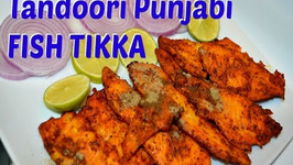 Authentic Fish Tandoori or Fish Tikka Punjabi