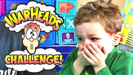 Warheads Challenge Extreme Sour Candy Giant Easter Egg Kids Edition