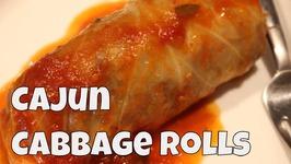 Cajun Inspired Cabbage Rolls